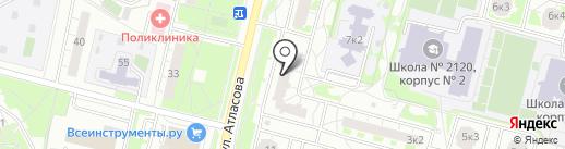 Азбука Стиля на карте Московского