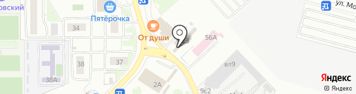 Магазин автозапчастей на карте Московского