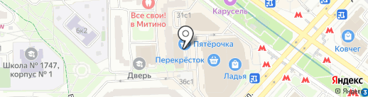 А-мега на карте Москвы