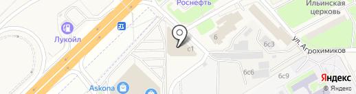 Артис на карте Новоивановского