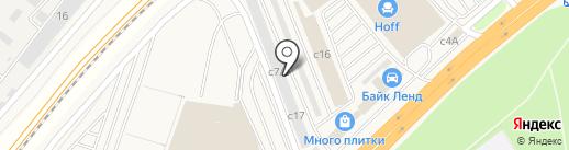 Саунаэксперт на карте Новоивановского