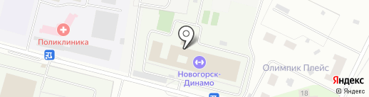 Динамо на карте Химок