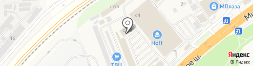 Торгово-выставочный центр строительных материалов на карте Новоивановского
