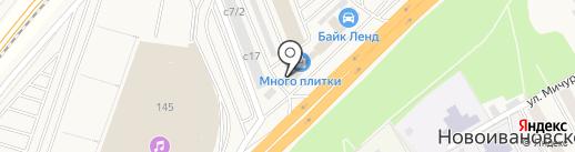 Магазин дверей на карте Новоивановского