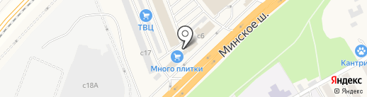 Модная плитка на карте Новоивановского