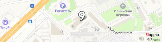 Фортис-Сервис на карте Новоивановского