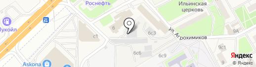 Ремдок на карте Новоивановского