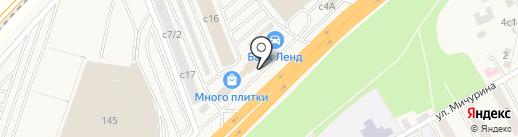 ТВЦ на карте Новоивановского
