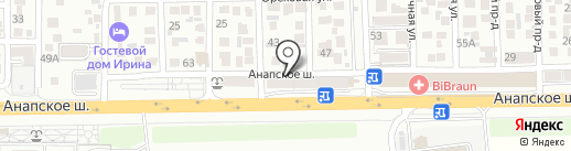 Умелец на карте Анапы
