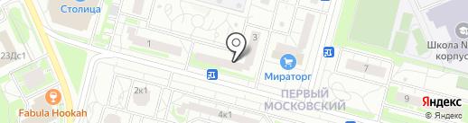 Пивотека на карте Московского