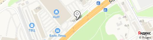 Магазин фейерверков на карте Новоивановского