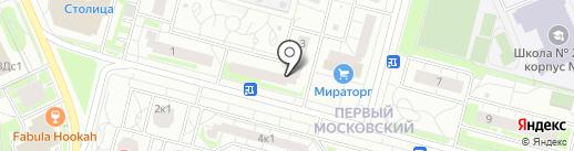 Sushi love на карте Московского