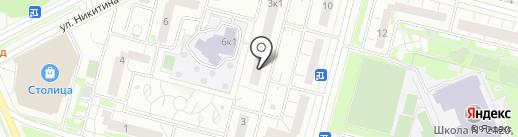 Телеком Центр на карте Московского