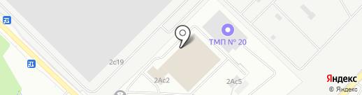 ИТС-Вольво на карте Московского