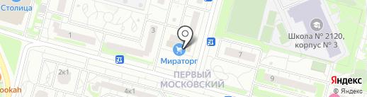 Я любимый на карте Московского