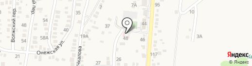 Амбулатория №7 на карте Анапы