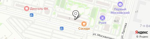 Первый Московский Город-Парк на карте Московского
