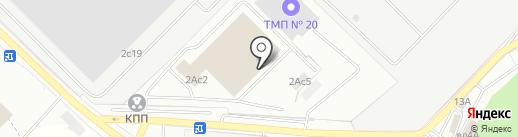 ИТС-ДАФ на карте Московского