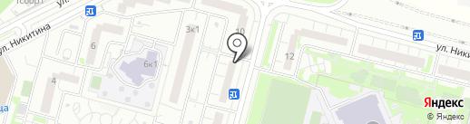 Наукаклаб на карте Московского