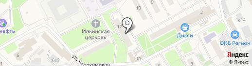 Администрация городского поселения Новоивановское на карте Новоивановского