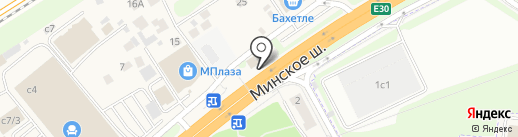 Плитка & Ступени на карте Новоивановского