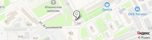 SK на карте Новоивановского