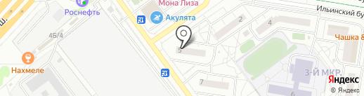 Салон-парикмахерская на карте Красногорска