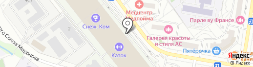 Магазин часов на карте Красногорска
