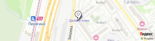 Магазин разливных напитков на карте Красногорска