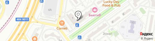 Мясная станица на карте Красногорска