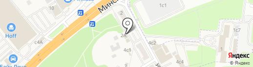 Магазин одежды на карте Новоивановского