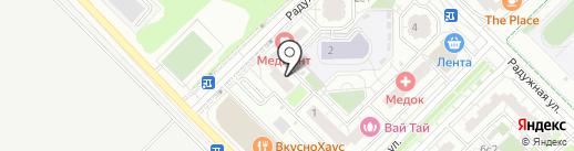 Инь Янь на карте Московского