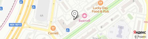 Профессиональная на карте Красногорска