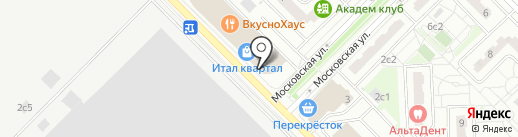 Суши Wok на карте Московского