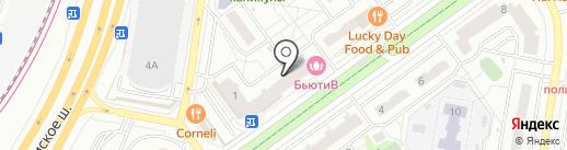 Ароматный Мир на карте Красногорска