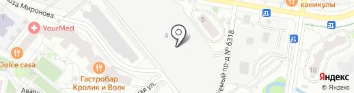 Subway на карте Красногорска