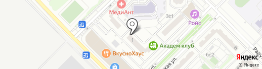 Dr.Fooke Laboratorien, GmbH на карте Московского