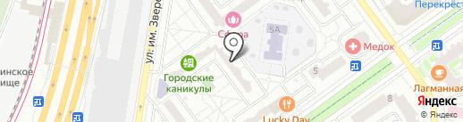 Окна Комфорта, ГК на карте Красногорска