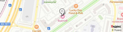 Фотоцентр на карте Красногорска