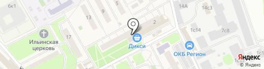 Почтовое отделение №143026 на карте Новоивановского