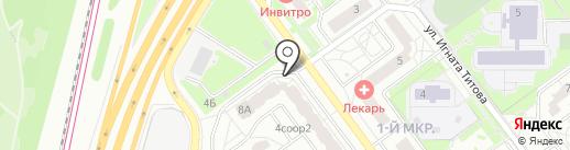 Barkad Dent на карте Красногорска