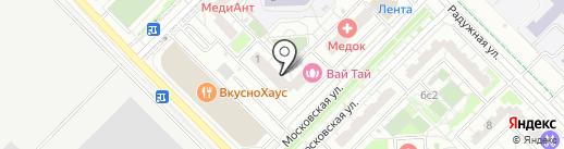 Ваше Здоровье на карте Московского