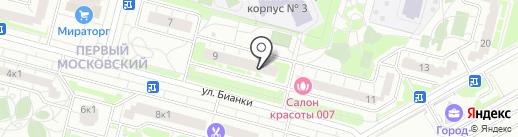 Клякса на карте Московского