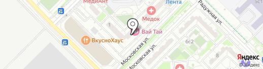 Энсоларадо на карте Московского