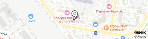 Карамель на карте Красногорска