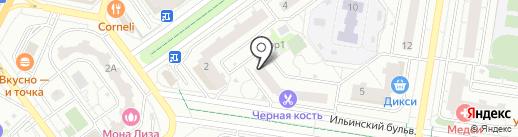 Детская поликлиника на карте Красногорска