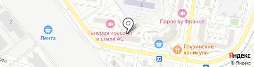 Семга и Килька на карте Красногорска
