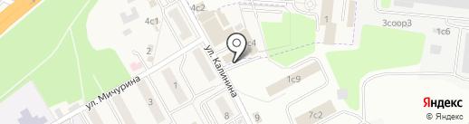 Fili baker на карте Новоивановского