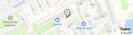 Надежда на карте Новоивановского