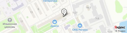 Максимум на карте Новоивановского